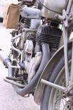 stary włoski motocykl Zdjęcie Royalty Free