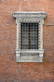 Stary Włoski okno Obrazy Royalty Free