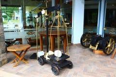Stary waży przyrząd przy herbacianą fabryką Zdjęcie Stock