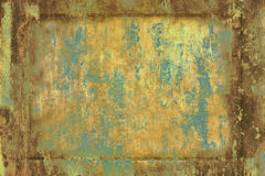 stary walcowane rusty Obraz Royalty Free
