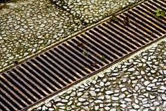 stary walcowane rusty metali Zdjęcie Royalty Free