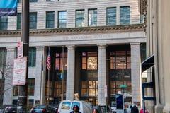 Stary Wanamaker budynek lokalizować w centrum mieście Filadelfia obrazy stock