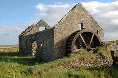 stary watermill Fotografia Stock