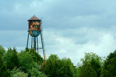 stary watertower Obrazy Royalty Free