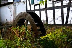 Stary waterwheel obrazy stock