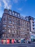 Stary Waverley hotel, Edynburg Obrazy Royalty Free