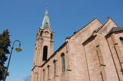 stary weilerbach do kościoła obrazy royalty free
