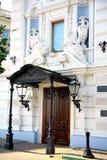 stary wejście dekorujący dom Obraz Royalty Free