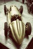 Stary weterana samochód w krajowym technicznym muzeum w Praga, stary filt Fotografia Royalty Free