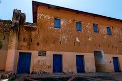 Stary więźniarski podwórze na Więźniarskiej wyspie obrazy royalty free