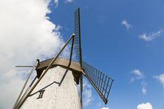 Stary wiatraczek w Angla dziedzictwa kultury centrum, Estonia Obrazy Royalty Free