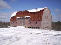 stary wieśniak barn Fotografia Royalty Free