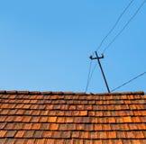 stary wieśniak dach domu Zdjęcia Stock