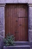 stary wieśniak drzwi Obraz Royalty Free