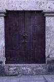 stary wieśniak drzwi Fotografia Royalty Free