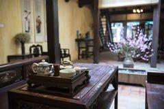 Stary wietnamczyka dom Vietnam hanoi Obrazy Stock