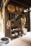 Stary wietnamczyka dom Vietnam hanoi Obrazy Royalty Free