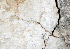 Stary wietrzejący łamający ścienny tekstury tło obraz stock