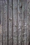Stary wietrzejący drewniany tła zakończenie up Obrazy Royalty Free