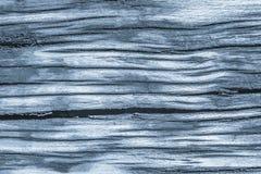 Stary Wietrzejący Powyginany Krakingowy Drewniany Szorstki Prochowego błękita Grunge tekstury szczegół obraz stock