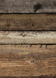 Stary wietrzejący deski drewno Obraz Royalty Free