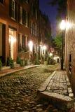 stary wiktoriańskie bostonu Obrazy Royalty Free