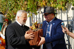 Stary winogradu festiwal 2014 fotografia stock