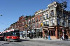 stary witryn sklepowych Toronto wiktoriański zdjęcia stock