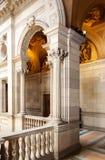 Stary wnętrze urząd miasta Barcelon Obrazy Stock