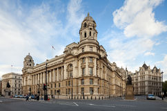 Stary Wojenny budynek biurowy, Whitehall, Londyn, UK Zdjęcie Stock