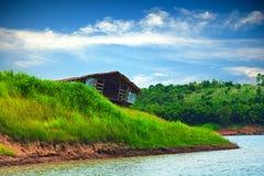 Stary wraku boathouse Obraz Stock