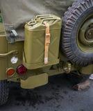 Stary WWII wojskowego samochód Zdjęcie Royalty Free