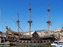 stary wypłynięcia statku Zdjęcia Royalty Free