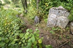 Stary Żydowski cementery Fotografia Royalty Free