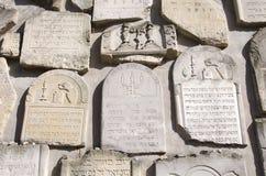 Stary Żydowski cmentarz w Kazimierz Dolny, Polska Fotografia Stock