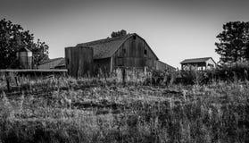 stary z gospodarstw rolnych Obrazy Stock