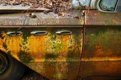 Stary Złomowy samochód obrazy stock