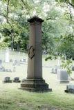 Stary zabytek przy Mt Nadzieja cmentarz Zdjęcie Royalty Free