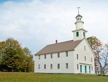 Stary Zachodni kościół, Calais, VT Fotografia Stock