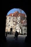 stary zamek Obrazy Stock