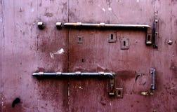 stary zamek drzwi Zdjęcia Royalty Free