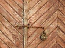 stary zamek drzwi Fotografia Stock