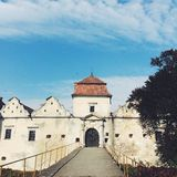stary zamek europejskiego Zdjęcia Stock