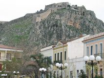 stary zamek miasta Obrazy Royalty Free