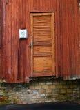 Stary zamknięty wejście Obrazy Stock