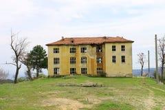 stary zaniechany budynek Zdjęcie Royalty Free