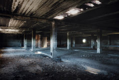 Stary zaniechany budynek Obrazy Royalty Free