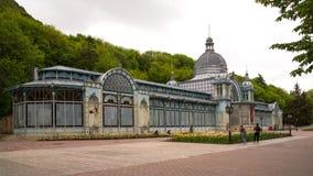 Stary zaniechany budynek budował w 1902 sztuka Nouveau Fotografia Stock