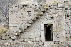 Stary zaniechany dom Obraz Stock