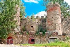 Stary zaniechany forteca Zdjęcia Royalty Free